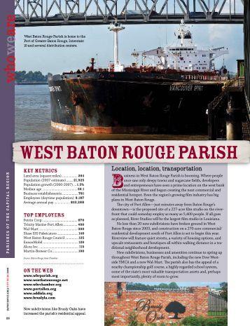 west baton rouge parish