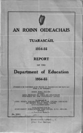 1954-1955 - Department of Education and Skills