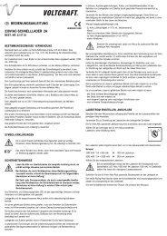230v/ac-schnelllader 2a  bedienungsanleitung - Produktinfo ...