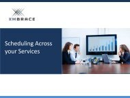 Scheduling Across your Services