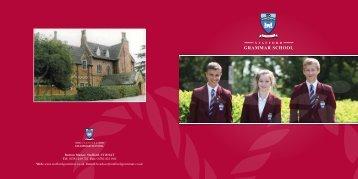 Stafford Grammar School