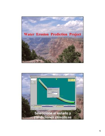 Water Erosion Prediction Project