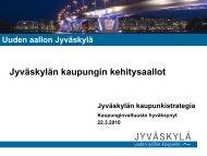 Kaupunkistrategia - Jyväskylän kaupunki