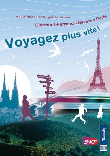 Clermont-Ferrand > Nevers > Paris - RFF