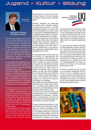 Newsletter 01/2010 - LKJ SH eV