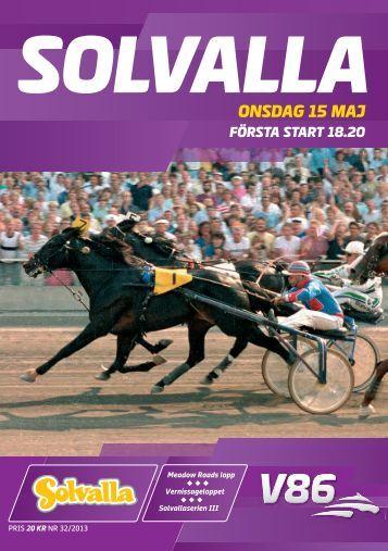 ONSDAG 15 MAJ - Solvalla