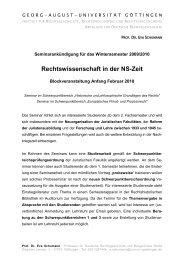 PDF-Datei - Prof. Dr. Eva Schumann - Georg-August-Universität ...