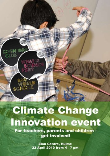 Climate Change Innovation event - Development Education Project