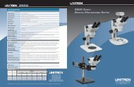 Z850 Zoom Stereo Microscope Series