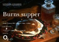 3347/40 Burns Supper - London Chamber of Commerce and Industry
