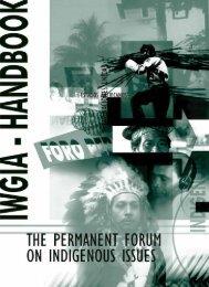 Download the manual (pdf, 1.1 MB) - iwgia