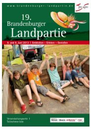 TOP Rollrasen - Brandenburger Landpartie