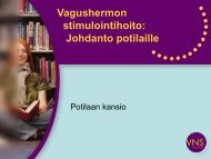 Vagushermon stimulointihoito: Johdanto potilaille - Fenno Medical Oy
