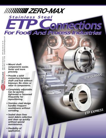 Stainless Steel ETP Connections