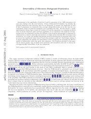 arXiv:astro-ph/0108209 v1 12 Aug 2001 - iucaa