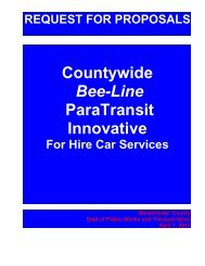 Countywide Bee-Line ParaTransit Innovative - Westchester County ...