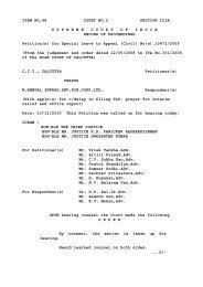 ITEM NO.48 COURT NO.2 SECTION IIIA ... - Supreme Court of India