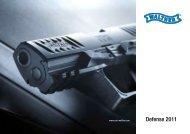 Walther Defensewaffen 2011/12 Gesamtprospekt D / E