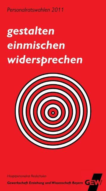 FB Realschulen - GEW Unterfranken