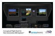 conceptual flight deck for next generation md explorer - Universal ...