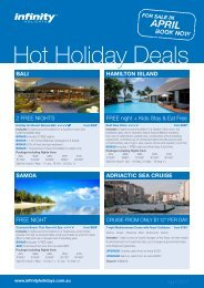 Hot Holiday Deals - Flight Centre Limited