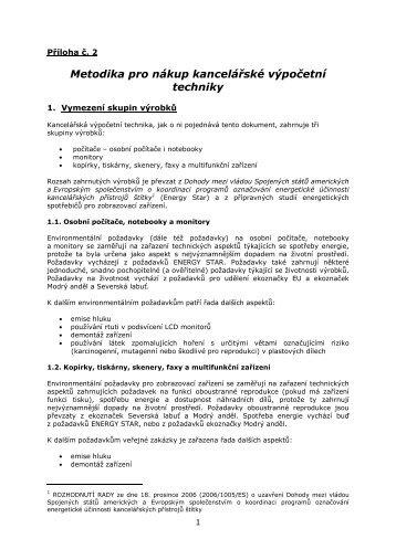 Metodika pro nákup výpočetní techniky (PDF, 93 kB)