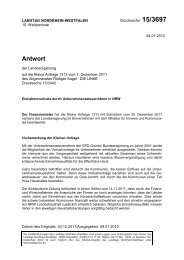 Drs. 15/3697 vom 04.01.2012 - Sagel, Rüdiger (Die Linke)