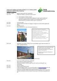 sjå oppdatert program her - Norsk Bygdesagforening