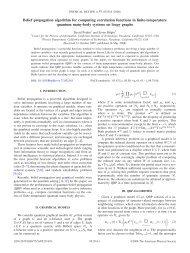 Belief propagation algorithm for computing correlation functions - EPIQ