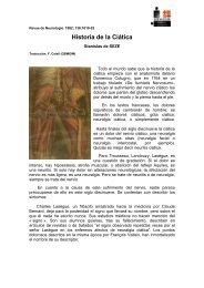 Historia de la Ciática - sofmmoo