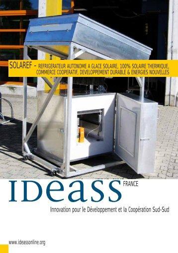 Innovation pour le Développement et la ... - Ideassonline.org