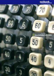 Geschäftsbericht 2005 - netbank AG