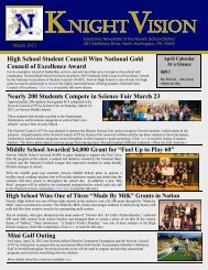 March 2013 - Norwin School District