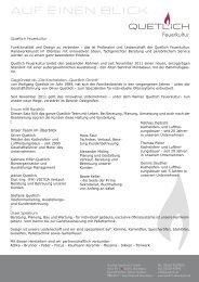 AUF EINEN BLICK - Kachelofen Quetlich GmbH