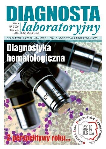 Diagnostyka - Krajowa Izba Diagnostów Laboratoryjnych