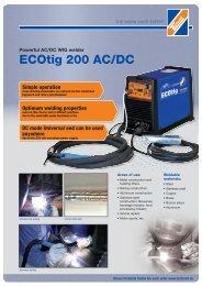 ECOtig 200 AC/DC - Technolit