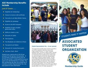 ASO Membership - West Los Angeles College