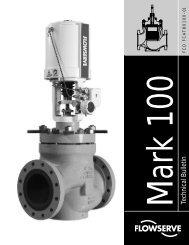 Valtek Mark 100 Control Valve Technical Brochure - Flowserve ...