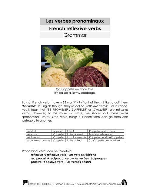 grammar premium 39 s worksheet on reflexive verbs french etc. Black Bedroom Furniture Sets. Home Design Ideas
