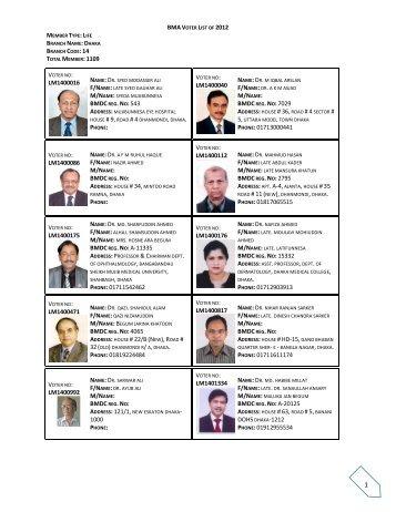 download - Bangladesh Medical Association (BMA)