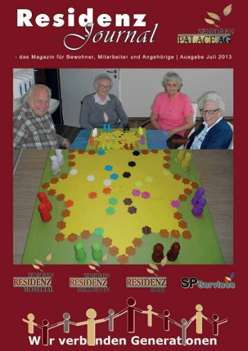 Ausgabe Juli 2013 | Seite 1 - Seniorenresidenz Moseltal