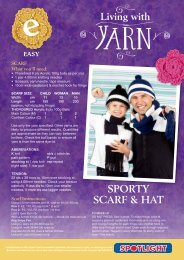 Thorobred Hat & Scarf - Spotlight Promotions