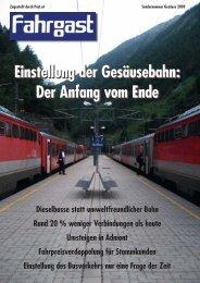 Sondernummer - probahn Österreich