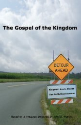 Embracing the Gospel of the Kingdom   PDF - El Cristianismo Primitivo