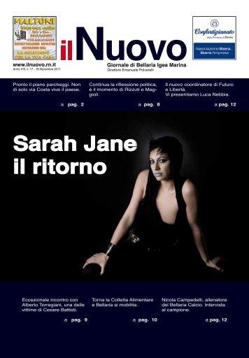 Sarah Jane il ritorno - Il Nuovo