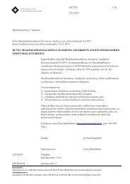 Kutsu ja ohjelma - Opetushallitus