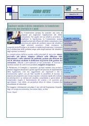 EuroNews Anno X n. VI - UPI - Unione delle Province d'Italia