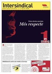 Pels drets socials - Intersindical Valenciana