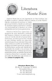 Literatura Monte Sion - El Cristianismo Primitivo