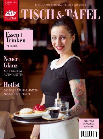 essen+ Trinken hotlist Neuer Glanz - Zitty Berlin